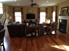 Living Room Inspiration w/ Brazilian Koa Hardwood
