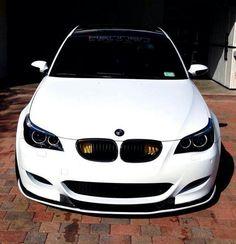 White beauty. Bmw m5