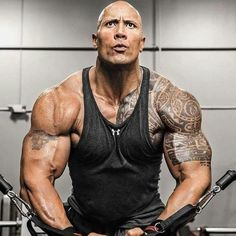 the main reasons why people often ask Is Dwayne Johnson 'The Rock' On Steroids? The Rock Dwayne Johnson, Dwayne The Rock, Rock Johnson, Fitness Gym, Fitness Goals, Fitness Motivation, Motivation Success, Daily Motivation, Health Fitness