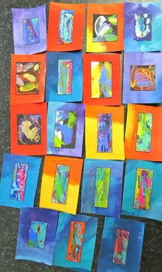 ATCs by kat gottke  11th march 2015