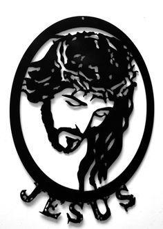 Resultado de imagem para metal art jesus