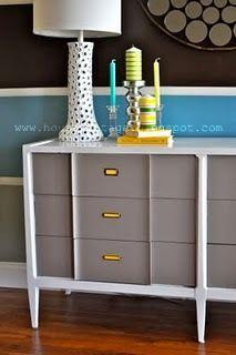 mid century modern painted furniture on pinterest modern furniture