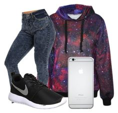 """""""Wys"""" by trill-queen478 ❤ liked on Polyvore featuring NIKE"""