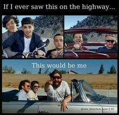 Lol yep but I would fall out of the car