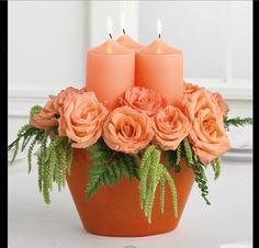 Could wrap the flameless candles in vellum? This is in a clay pot?