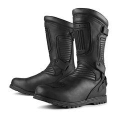 ICO048 Icon 1000 Prep boots - stealth black