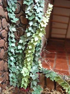 Minimar.nl - making ivy plants for walls - The Netherlands