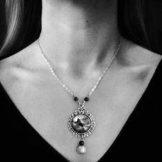 Dracula's Castle by Lizzie M. Press https://www.etsy.com/listing/249970445/draculas-castle-gothic-necklace-vampire
