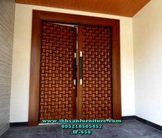 Interior Slab Doors - February 14 2019 at House Main Door Design, Wooden Front Door Design, Double Door Design, Wood Front Doors, Slab Doors, House Design, Modern Entrance Door, Main Entrance Door Design, Modern Front Door