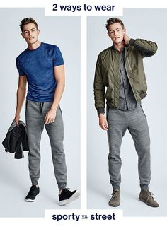 How to Wear Mens Joggers Style 2015 GAP 002