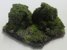 Using pluck foam in miniatures terrain and basing