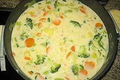 Claudis Kartoffel - Gemüse - Käsesuppe