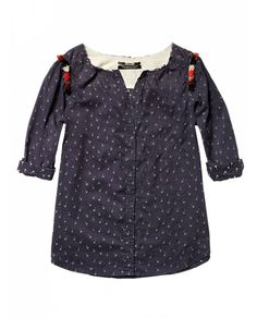 Woven top with colourful tassles at shoulder - T-shirts & Tops - Scotch & Soda Online Shop