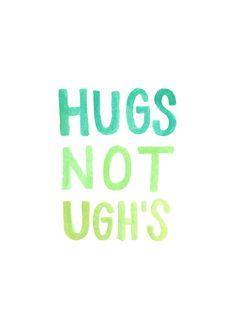 Hugs make everything better ;)