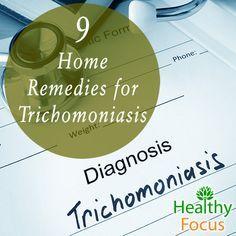 Home Remedies for Trichomoniasis include Tea Tree Oil, Bergamot, Garlic, Yogurt, Apple Cider Vinegar, Citrus, Water, Echinacea, and Colloidal Silver.