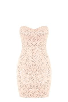 Pink Sequin Embellished Bodycon Dress #TALLYWEiJL #new #collection