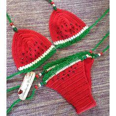 Biquini em crochet Bojo opcional Fio 100% algodão ENCOMENDE O SEU perolasdocrochet@hotmail.com GRÁFICOS NA R...