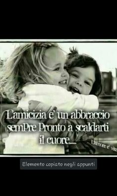 Friendship is always a ready hug to warm the heart