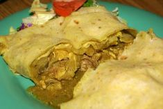 Caribbean Recipe Of The Week - Chicken Roti Trinidad Style - Caribbean and Latin America Daily News Trinidad Roti, Chicken Recipes, Empanadas, Trinidadian Recipes, Caribbean Recipes, Caribbean Food, Caribbean Chicken, Jamaican Recipes, Cooking