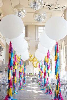 Balões no casamento? Claro que sim! Deixem-se encantar! Image: 10