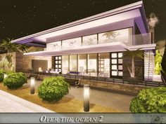 Over the ocean 2 house by Danuta720 from TSR for The Sims 4