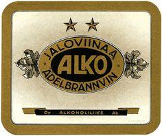 Oy Alkoholiliike Ab:n väkevät etiketit Restaurant History, Map Pictures, Old Ads, Product Design, Finland, Nostalgia, Abs, Graphic Design, Tattoos