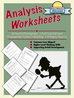 Free Analysis Worksheets