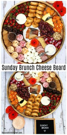 Best Sunday Brunch Cheese Board Recipe #cheeseboard #brunch #appetizers Best Sunday Brunch, Mothers Day Brunch, Brunch Appetizers, Brunch Menu, Brunch Food, Healthy Brunch, Appetizer Buffet, Brunch Table, Party Food Platters