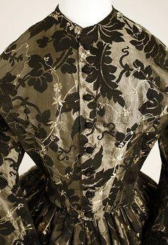 American Victorian-era gown, c1850