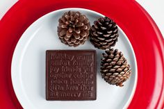 Our Christmas holiday block is a perfect addition to your holiday table.