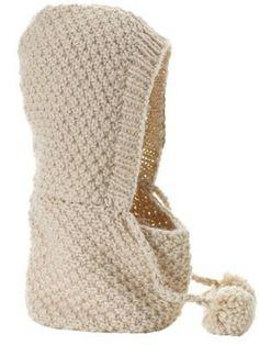 Capucha de punto  -  Knit cowl