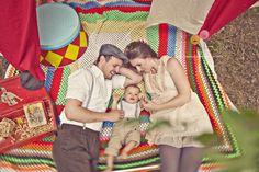 Circus Family Session : Sassyfras Studios