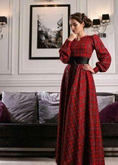 super ideas for dress hijab motif Modest Dresses, Simple Dresses, Casual Dresses, Muslim Fashion, Hijab Fashion, Fashion Dresses, Pretty Outfits, Pretty Dresses, Beautiful Dresses