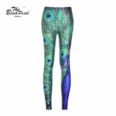 Sexy Lady woman stretch Fashion leggings Jeggings wholesale peacock Print Slim Sports Pants Fitness legging  Only $19.99 => Save up to 60% and Free Shipping => Order Now!  #print leggings outfit #dress #Fashion #girl #Digital #sport #yoga