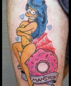 the simpsons with tattoos - Google Search
