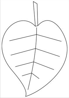 flower leaf template printable marker templates for fall