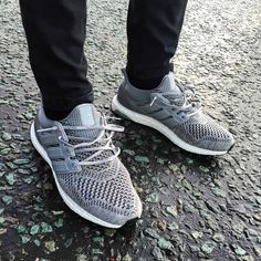 adidas Originals Ultra Boost: Grey