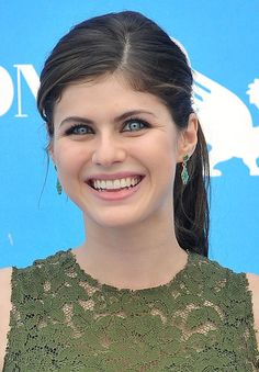 Alexandra Daddario attends 2013 Giffoni Film Festival photocall on July 23, 2013 in Giffoni Valle Piana, Italy