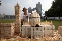 London Made Out Of Food