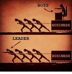 Jefe vs líder
