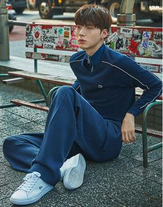 Ahn Jae Hyun traveled to Tokyo for an interview and photo shoot with Grazia, check it out! It's easy to see why this young man was a model first, these shots are gorgeous. Ahn Jae Hyun, New Actors, Actors & Actresses, Asian Actors, Korean Actors, Dramas, Cinderella And Four Knights, Korean Men Hairstyle, Most Handsome Actors