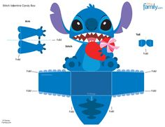 Disney Stitch Template - Invitation Templates