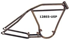 photo of paughco 128S5-USP boardtrack-style rigid frame for harley-davidson engines and 5-speed transmissions