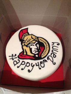 843aa9b5689 15 Best SENS CAKE images | Hockey party, Hockey cakes, Hockey ...