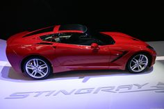 Zero-60 time - 2014 Chevrolet Corvette Stingray debuts in Detroit (photos)