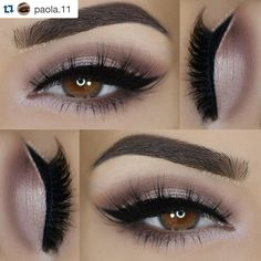99 Problems but her brows ain't one! #Repost @paola.11 wearing Motives Essential Brow Kit #beauty #mua #makeup  ___  Eyeshadows: @elfcosmetics 'Studio Endless Eyes Pro Palette' ___  Liner: @lashem Colour Strokes black liquid eyeliner ___  Lashes: @slmissglam Sweetly Glam ___  Brows: @motivescosmetics Essential Brow Kit