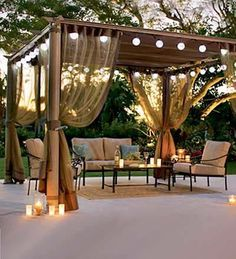 retractable waterproof fabric pergola cover - Google Search