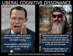 Louis Farrakhan calls for beheading of gays with no outrage Phil Robertson simply quotes Bible liberals Phil Robertson, Liberal Logic, Liberal Hypocrisy, Cognitive Dissonance, Islamic Teachings, Down South, Things To Think About, Gay, Bible