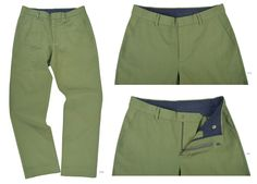 Brisbane Moss Fern Green Canvas  100% cotton canvas pants in bright shade.   Features: Jeans style with hook & bar closure and standard belt loop.