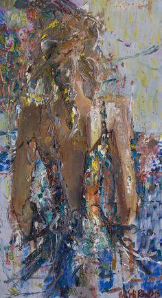 Mstislav Pavlov. Impressionism art. Oil Paintings online